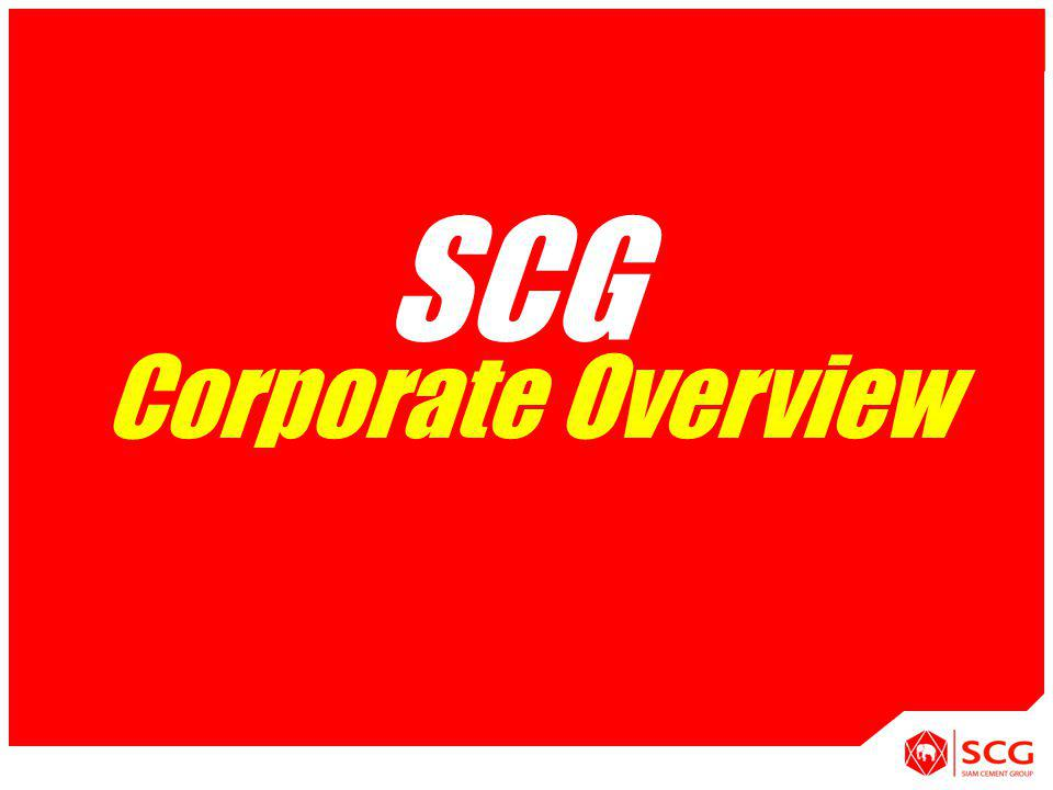 1 APPLICATION [System] Corporate Overview SCG
