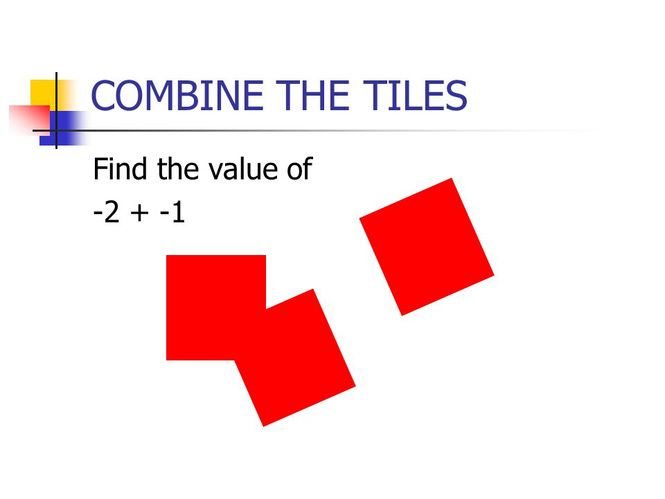 Section 3 Introduce variables as rectangles Create algebraic expressions Perform addition and subtraction on algebraic expressions OBJECTIVES