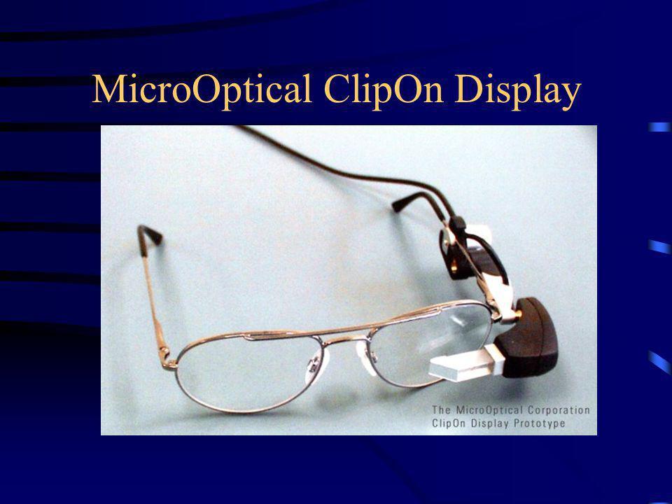 MicroOptical ClipOn Display