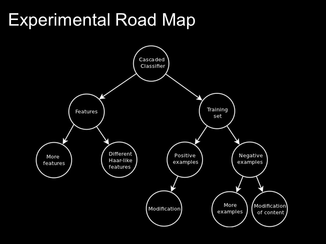Experimental Road Map