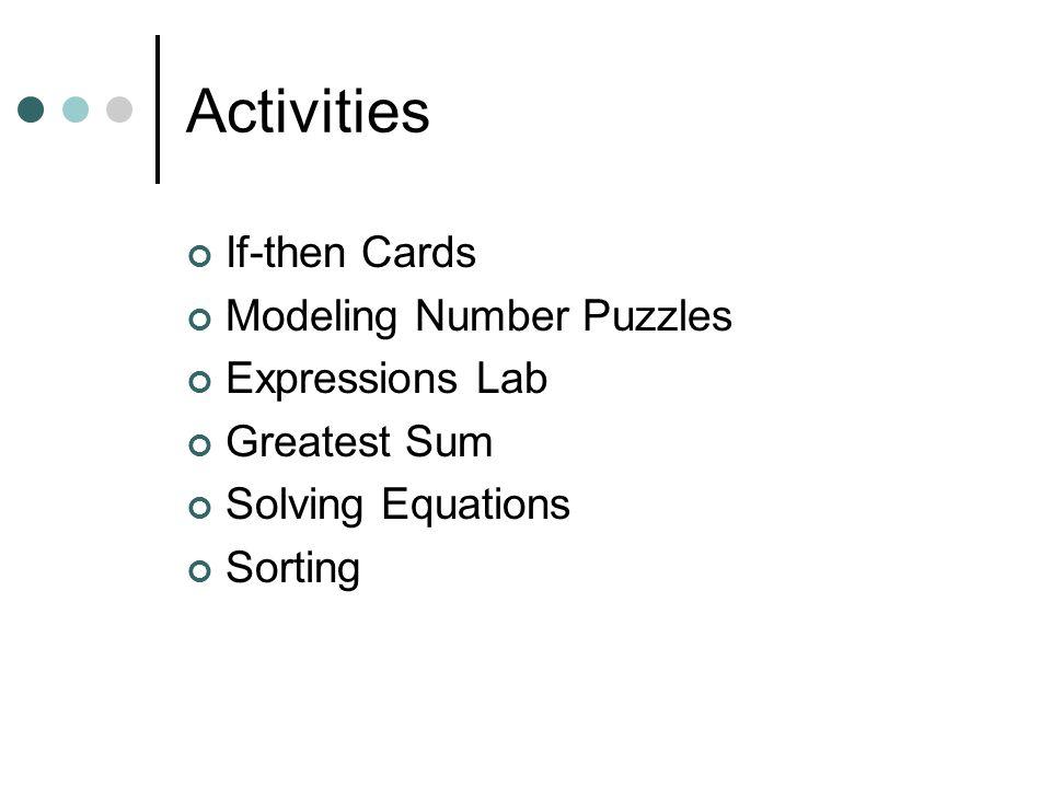 Lets Do Algebra Tiles Written by David McReynolds & Noel Villarreal Edited by Helen Luster