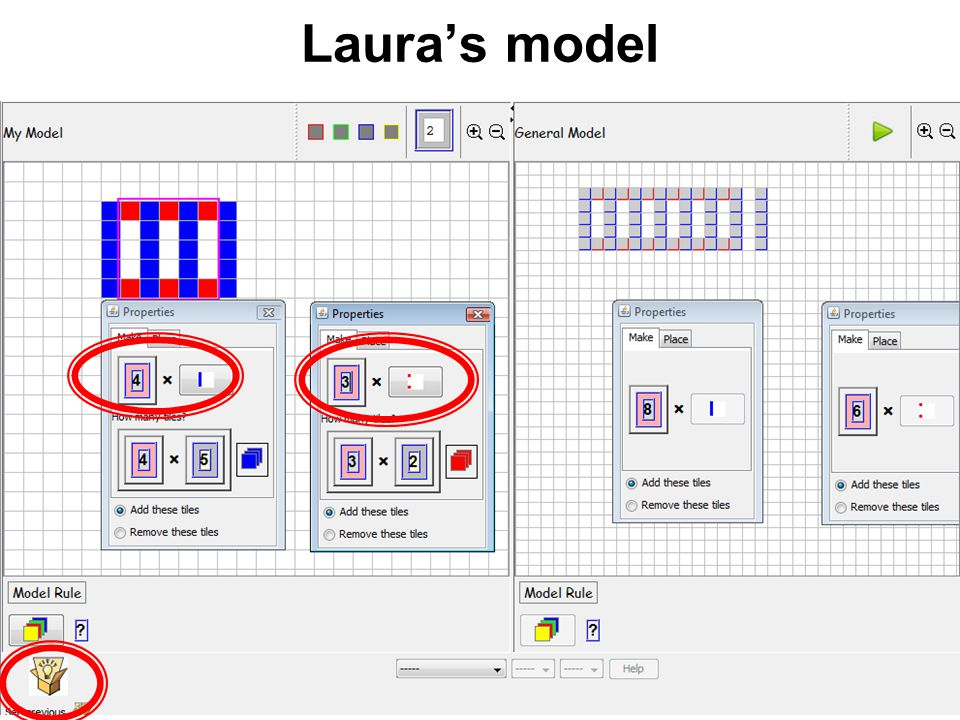 Lauras model Add messing-up in the General Model...