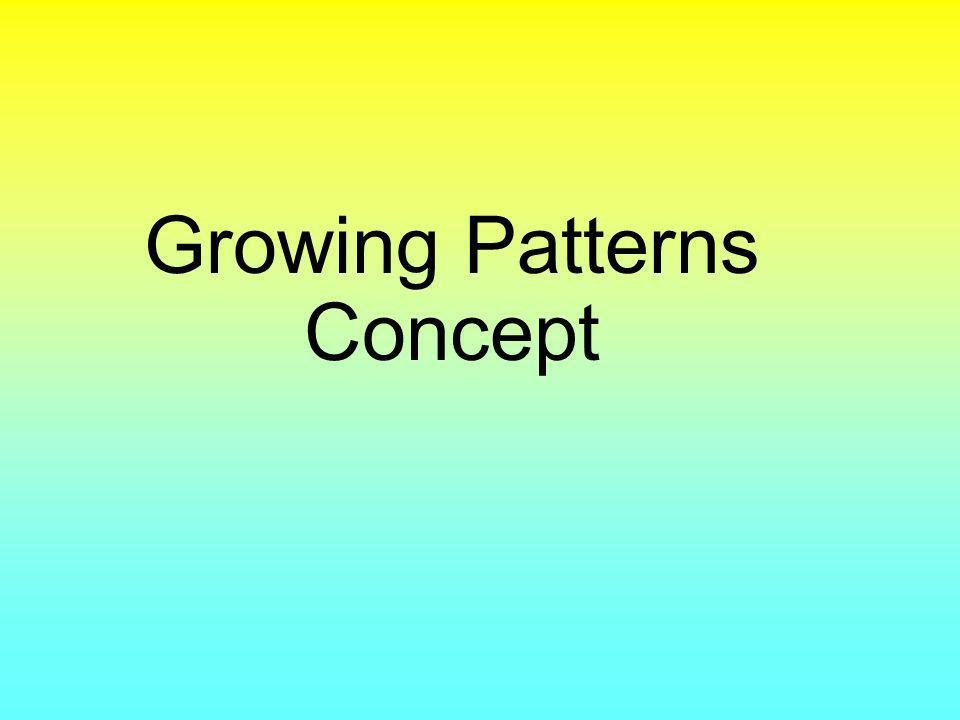 Growing Patterns Concept
