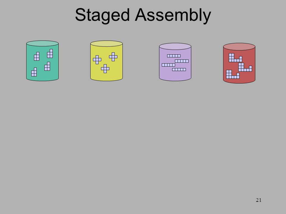 21 Staged Assembly