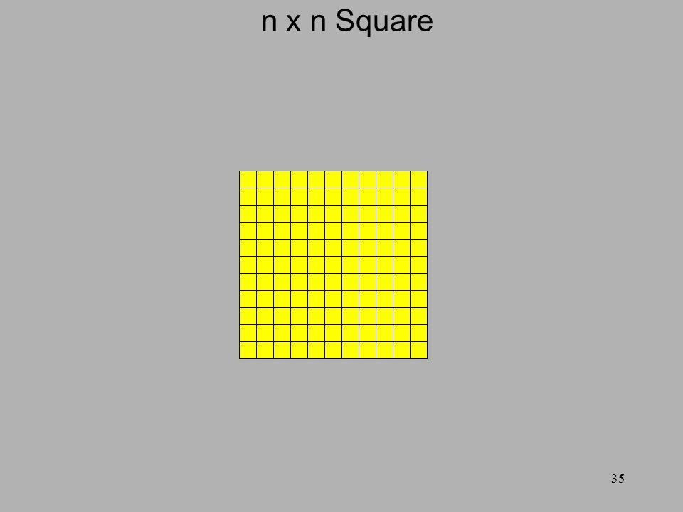 35 n x n Square