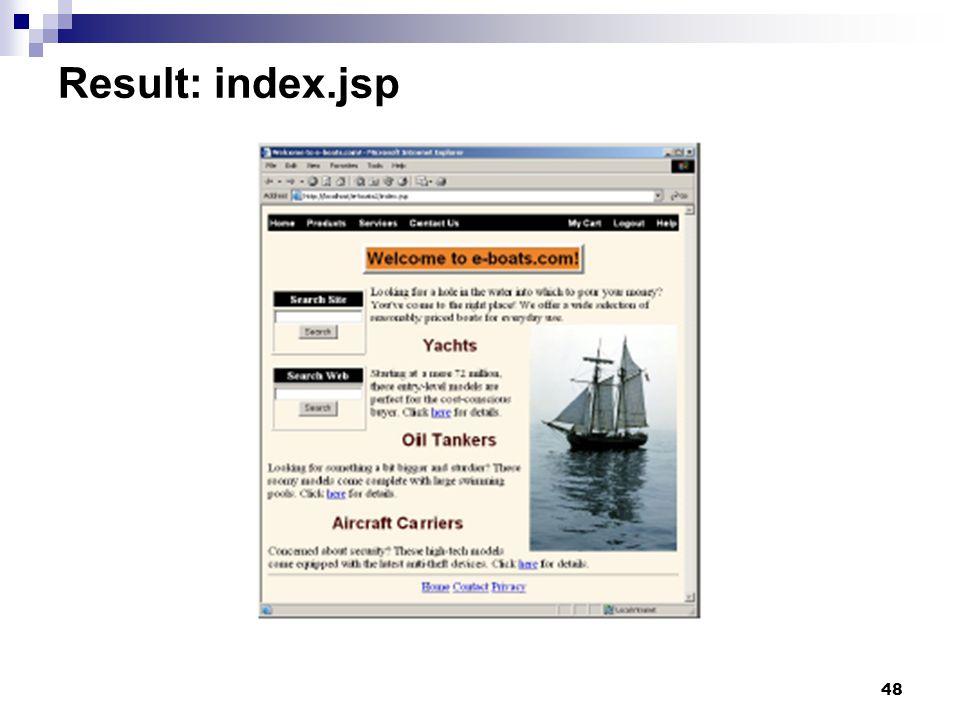 48 Result: index.jsp