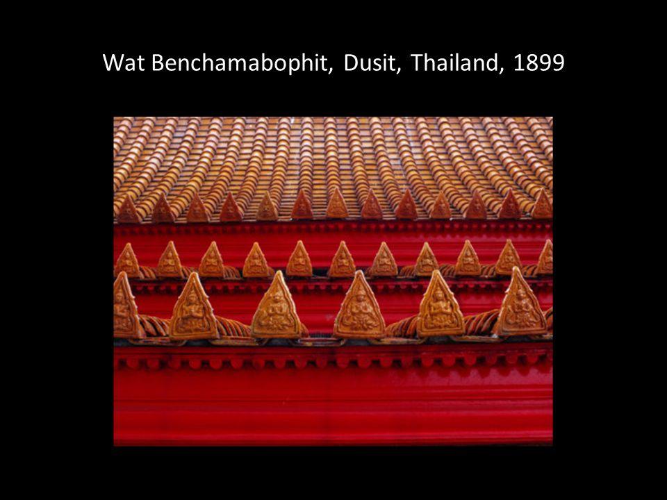 Wat Benchamabophit, Dusit, Thailand, 1899