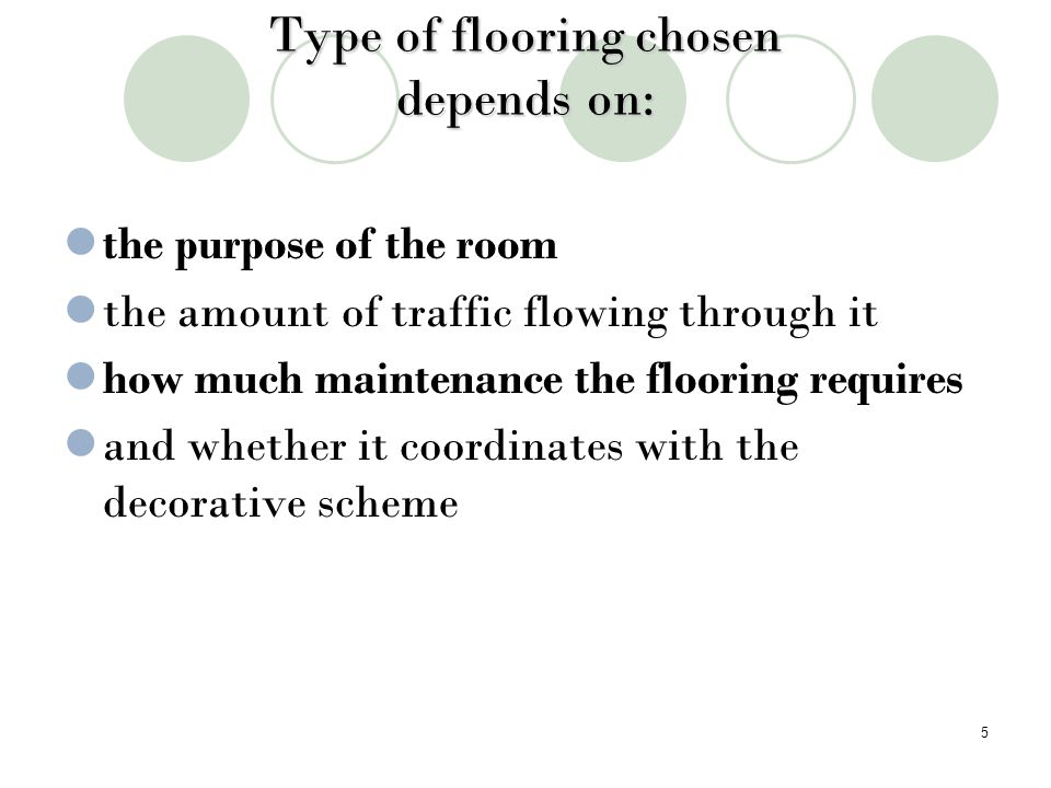 Types of Flooring: Stone Marble- the colors depend on the area of the world where it was quarried.