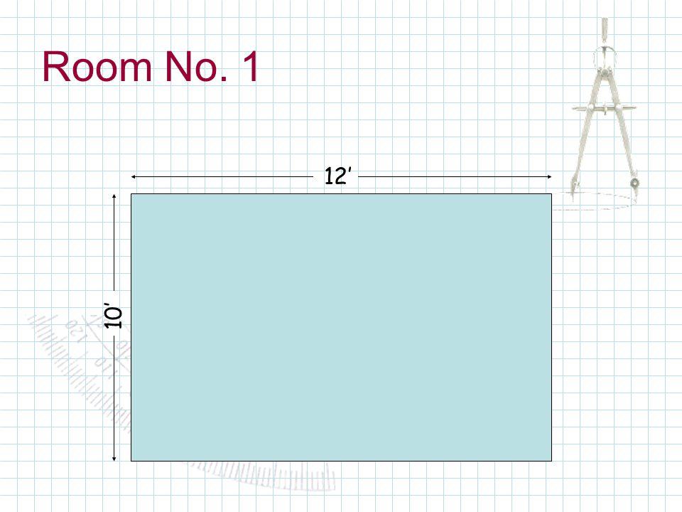 Room No. 1 12 10