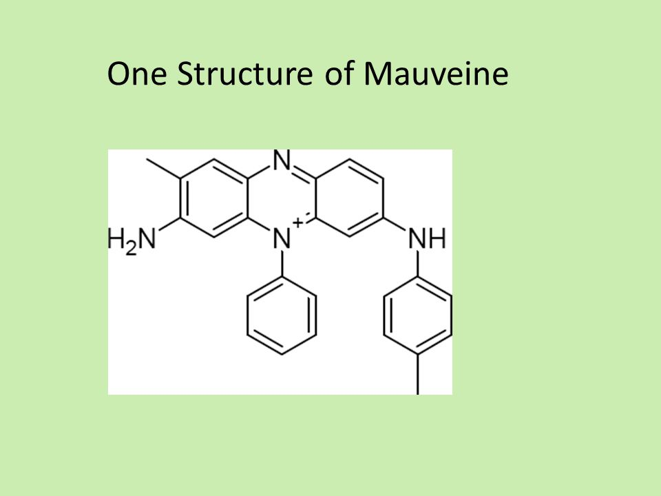 One Structure of Mauveine