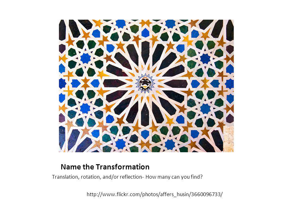 Alhambra Tiles Translation, rotation, and/or reflection- How many can you find.