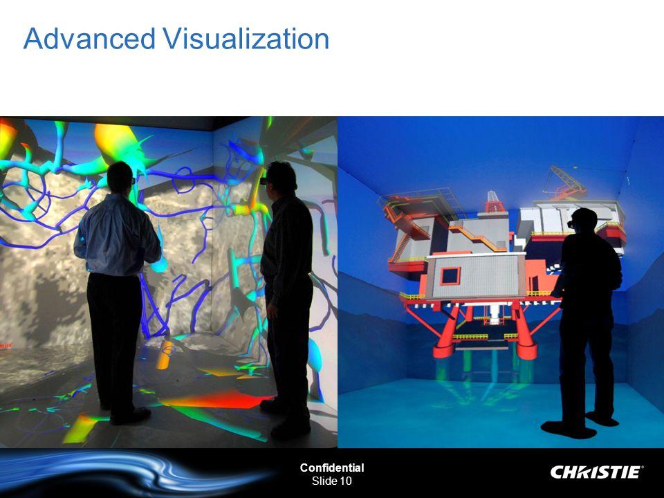 Confidential Slide 10 Advanced Visualization