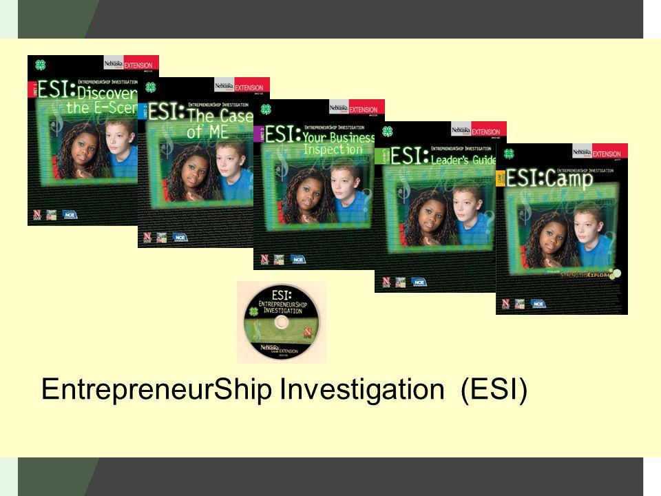 EntrepreneurShip Investigation (ESI)
