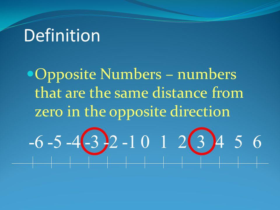 -8 – ( -2) = 5 - 4 = (+7) - (+2) = -8 – (-7) = 8 - 5 = -10 – (-2) = SUBTRACTING INTEGERS 6 3 1 5 -8