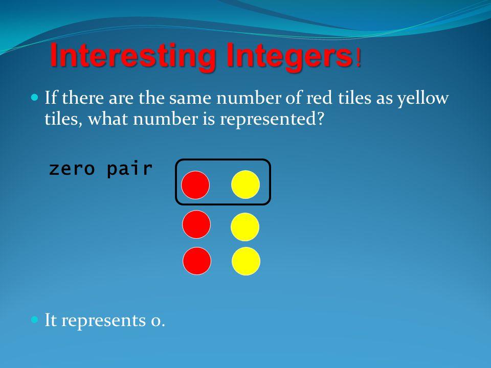 Interesting Integers .
