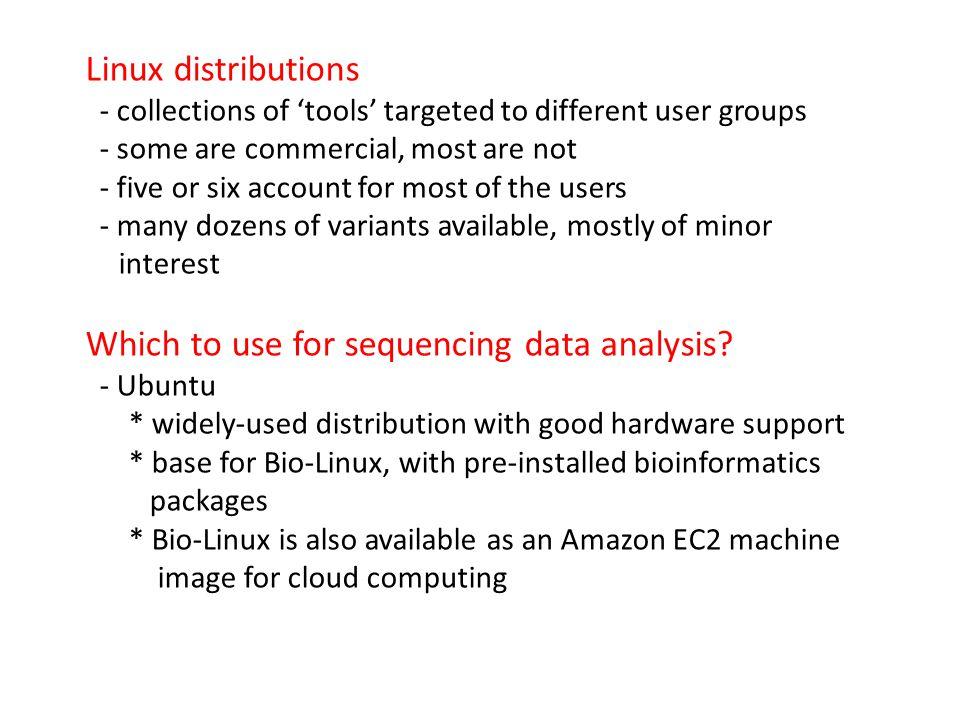 Sequencing technology overview – Illumina GAIIx