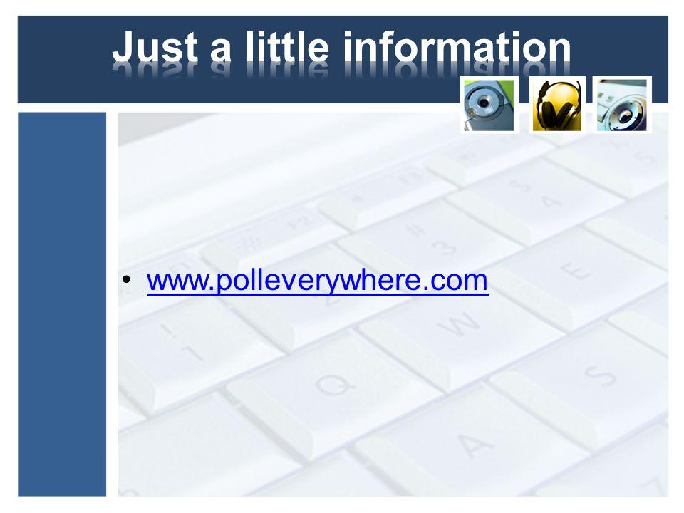 www.polleverywhere.com