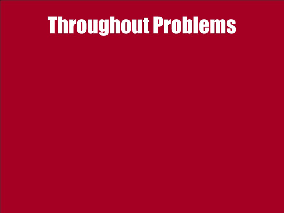 Throughout Problems