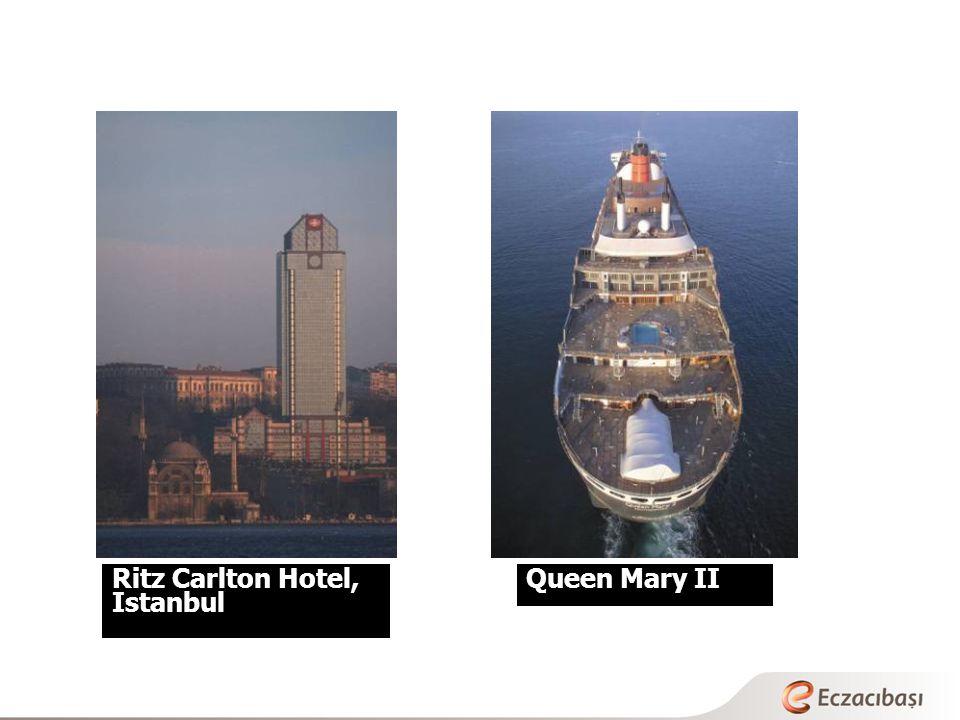 Ritz Carlton Hotel, Istanbul Queen Mary II