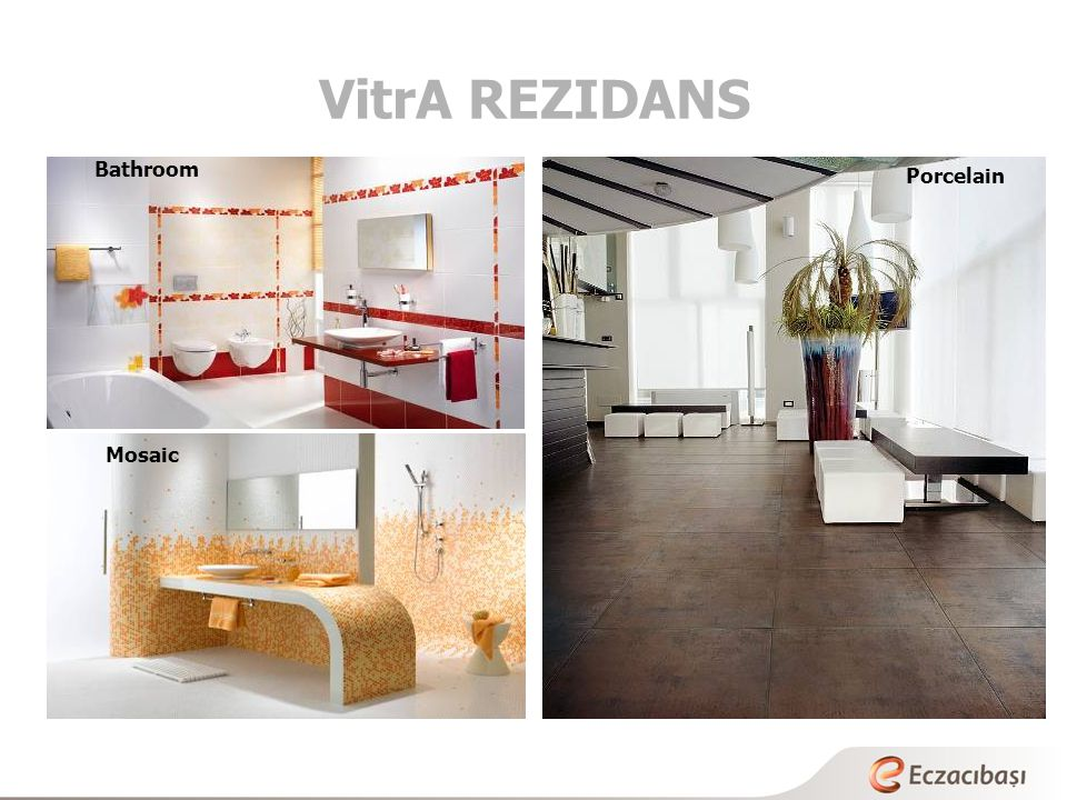 VitrA REZIDANS Bathroom Mosaic Porcelain