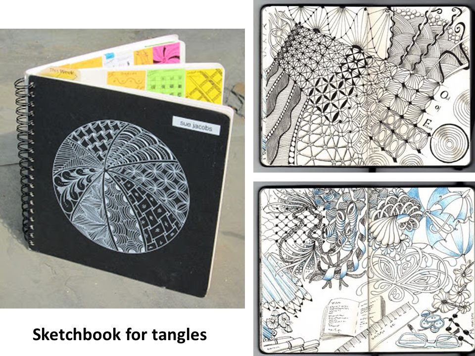 23 Zentangle Tiles from workshop at 2013 NAEA Convention in Fort Worth