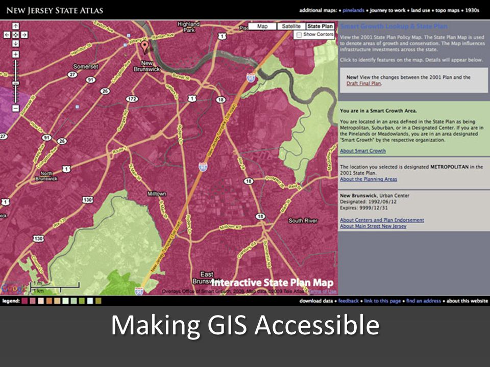 Making GIS Accessible