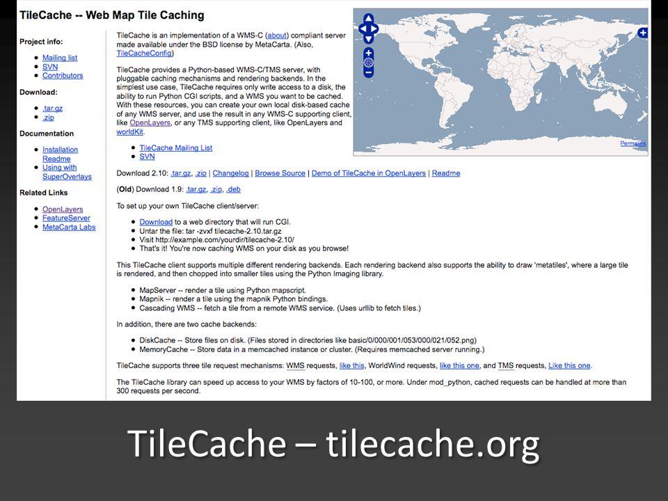 TileCache – tilecache.org
