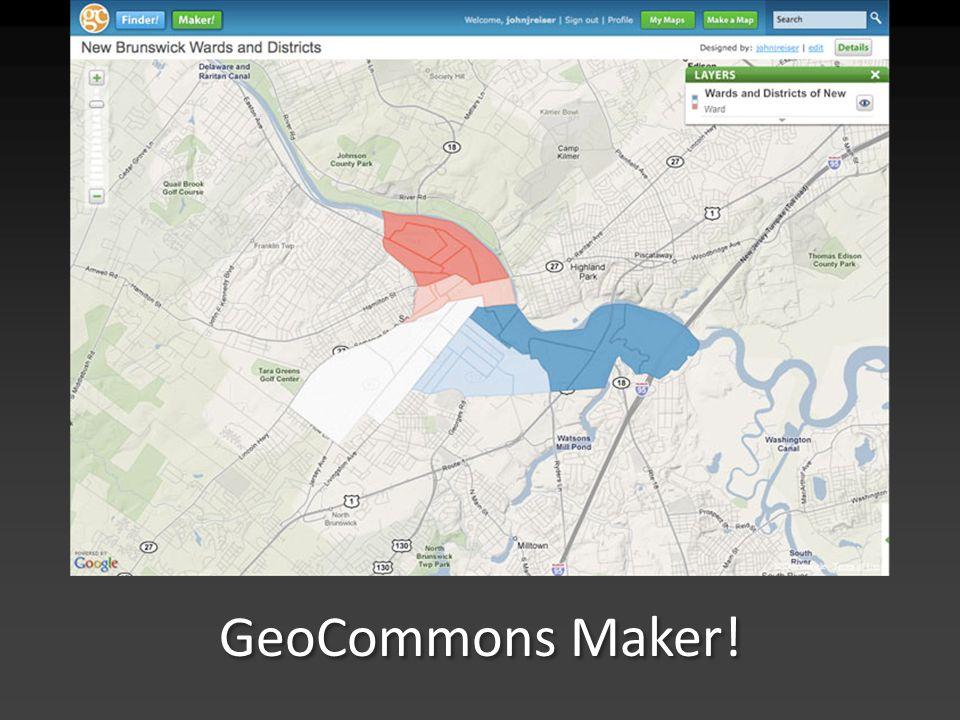 GeoCommons Maker!