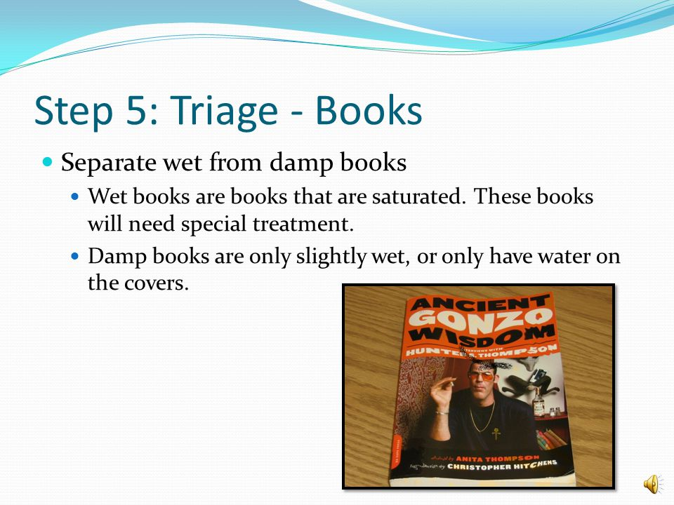 Step 5: Triage the Collection What types of materials are there in the Rutgers Libraries.