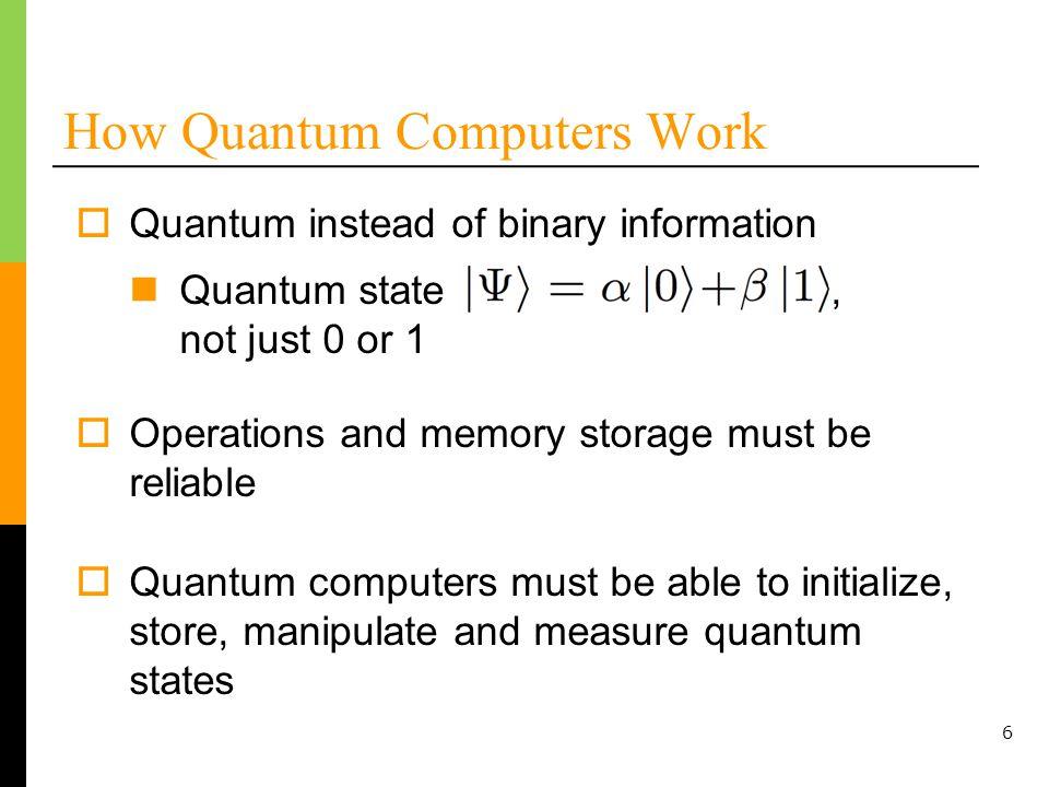 27 Numerical Results – Shors Factoring Algorithm, Three Technologies e = 1 x 10 -3 t = 19,000 ns e = 1 x 10 -5 t = 25 ns e = 1 x 10 -9 t = 32,000 ns