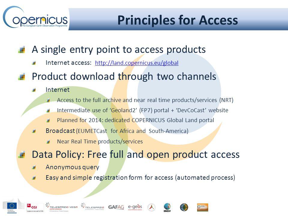 Portal Introduction http://land.copernicus.eu/