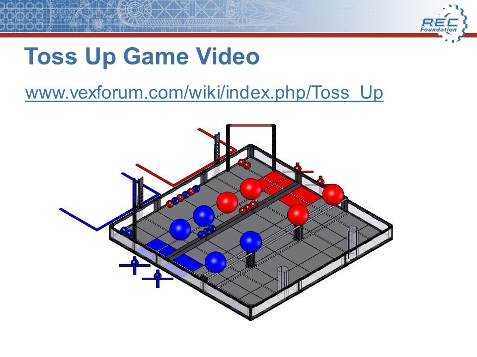 Toss Up Game Video www.vexforum.com/wiki/index.php/Toss_Up