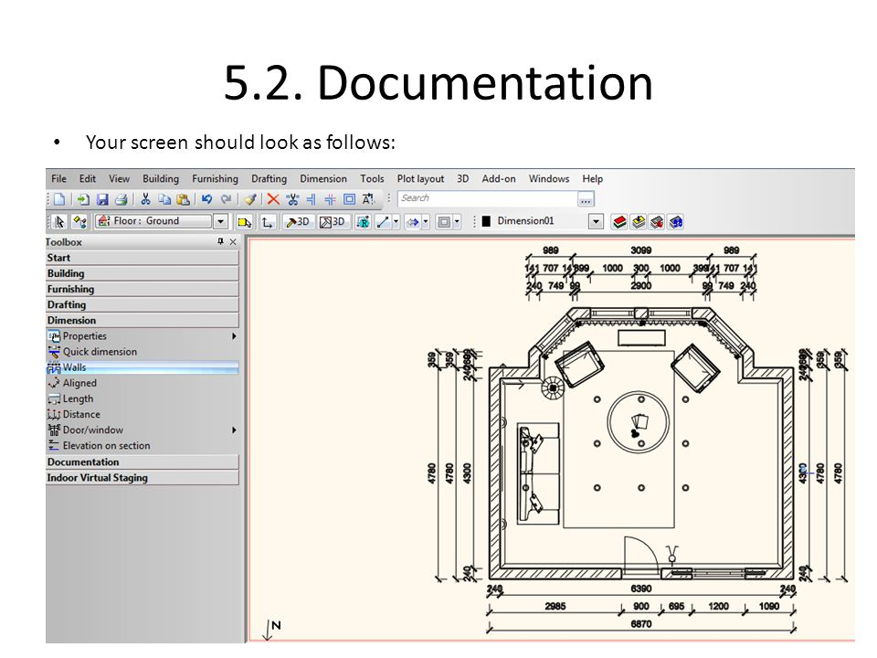 5.2. Documentation Your screen should look as follows: