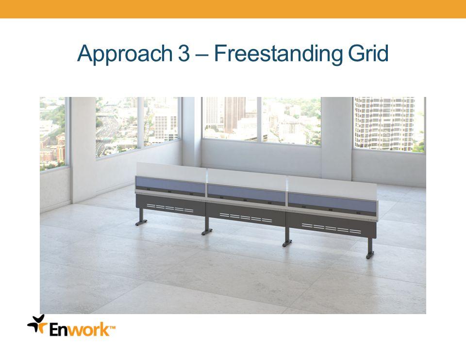 Approach 3 – Freestanding Grid 18