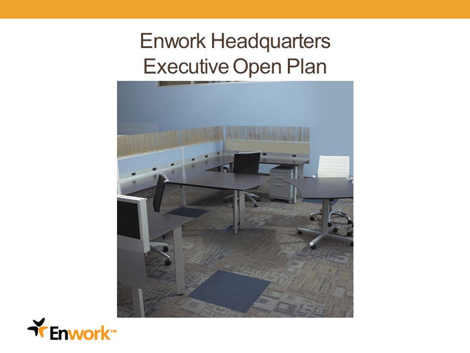 Enwork Headquarters Executive Open Plan