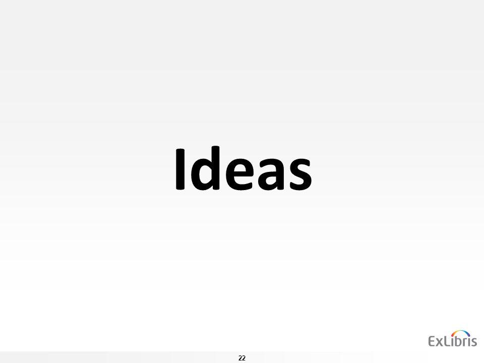 22 Ideas