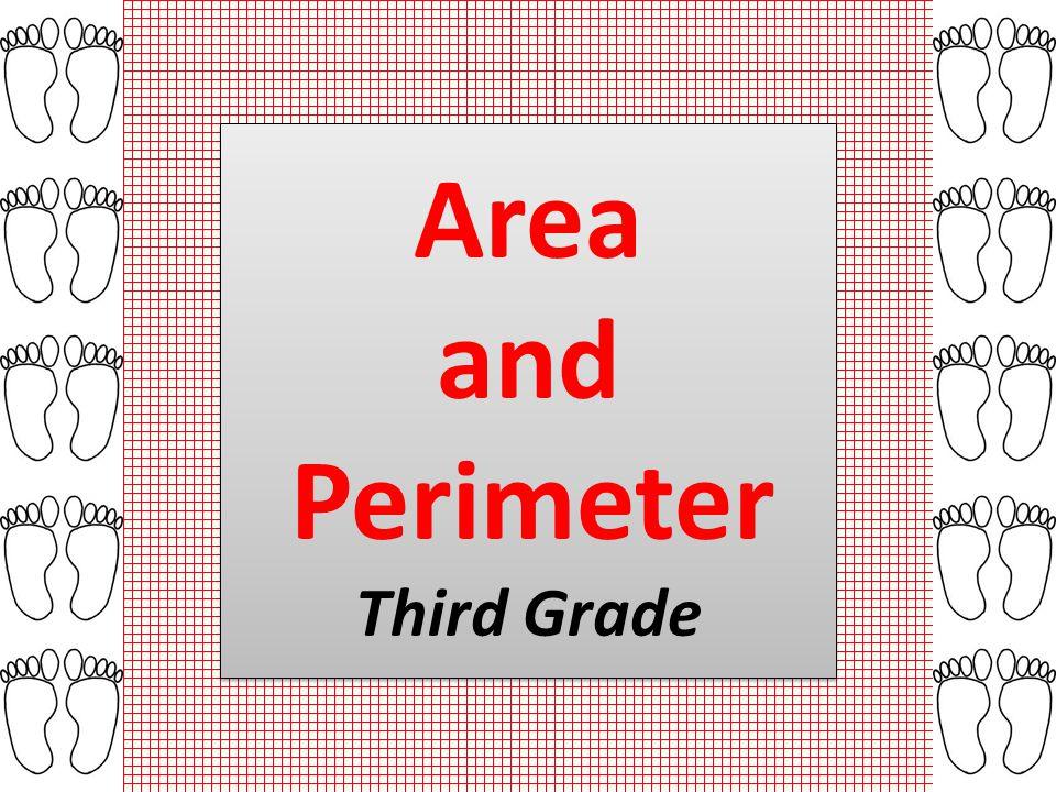 Area and Perimeter Third Grade