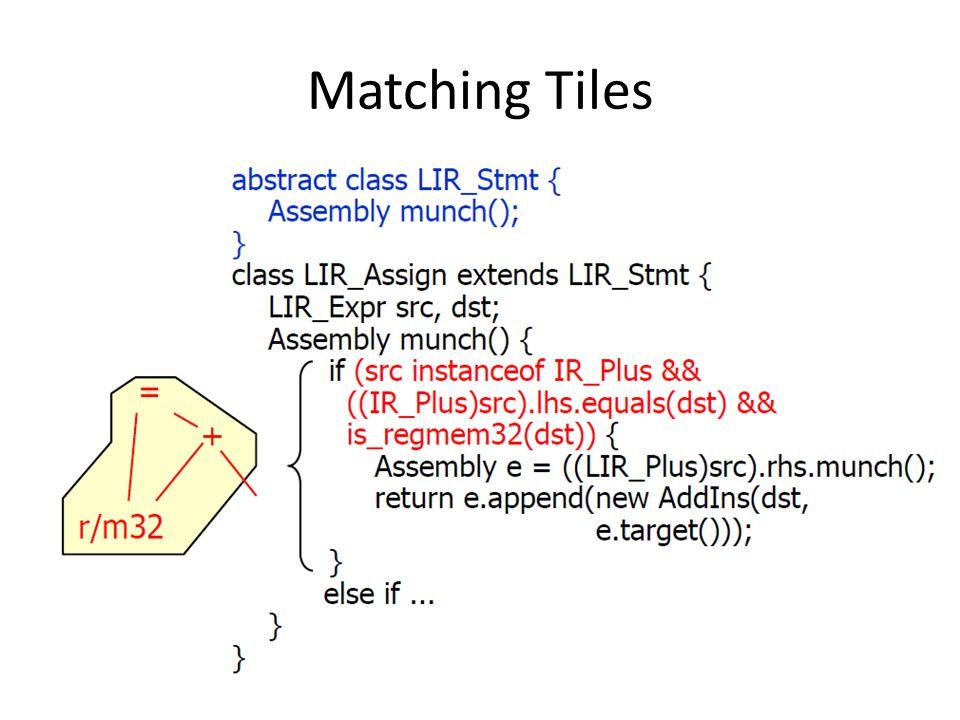 Matching Tiles