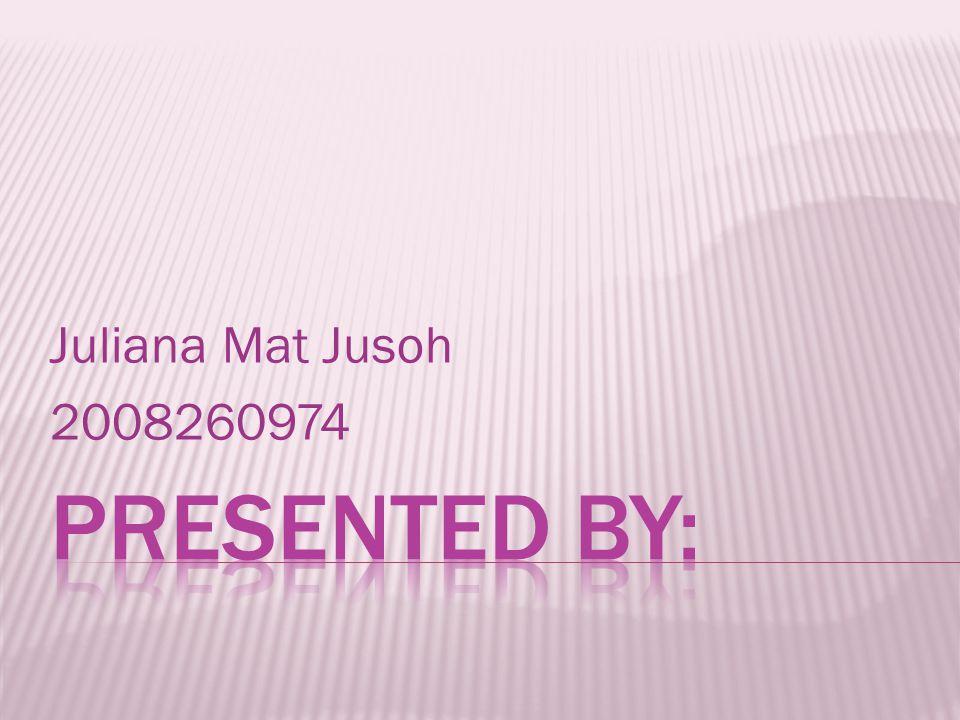 Juliana Mat Jusoh 2008260974