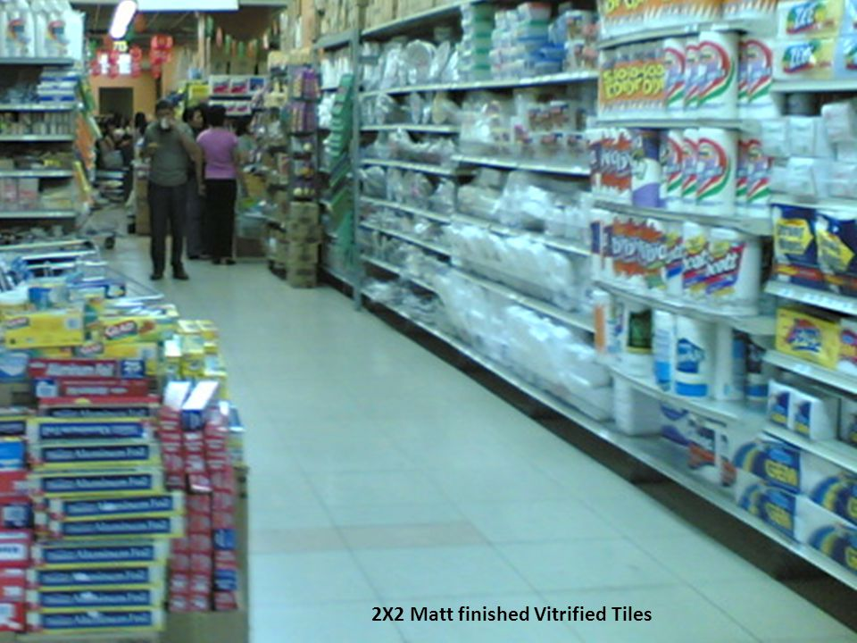 2X2 Matt finished Vitrified Tiles