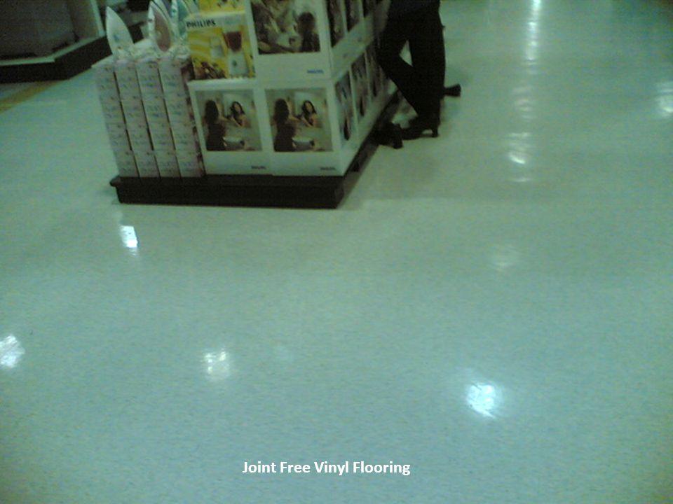 Joint Free Vinyl Flooring