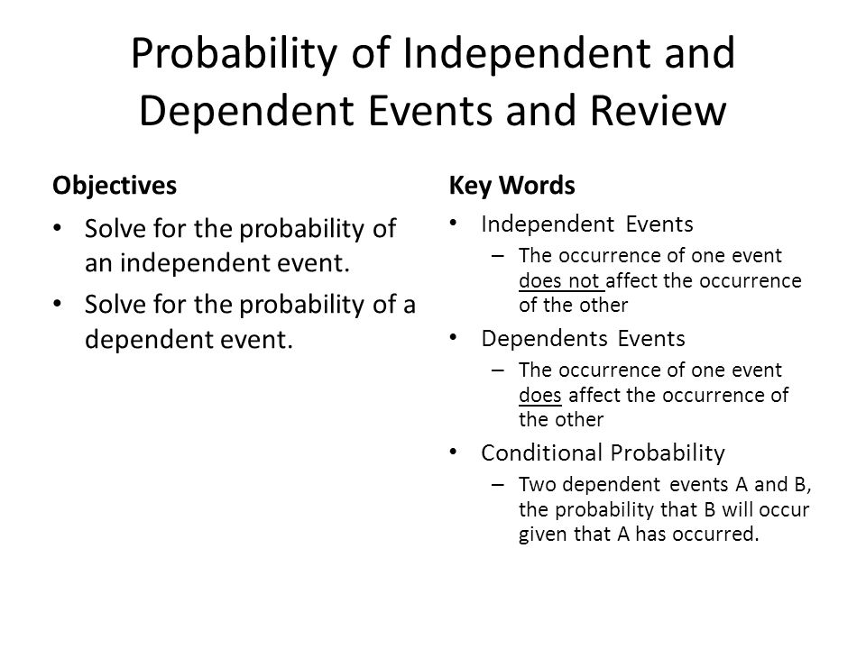 Checkpoint Find Probabilities of Independent and Dependent Events In the game in Example 3, you draw two tiles.