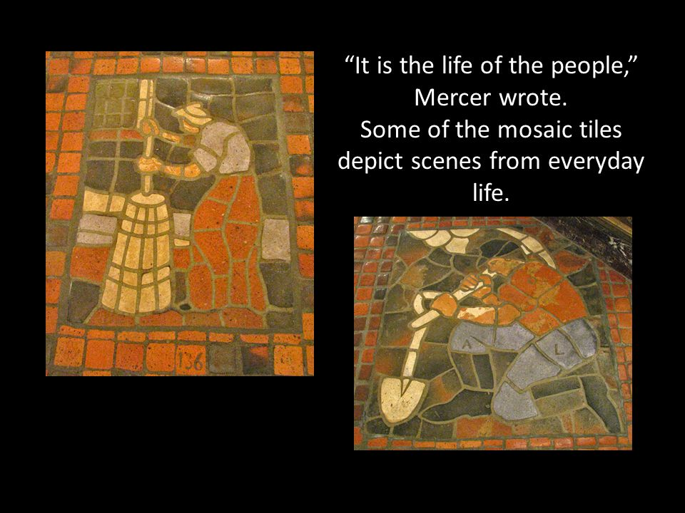 It is the life of the people, Mercer wrote.