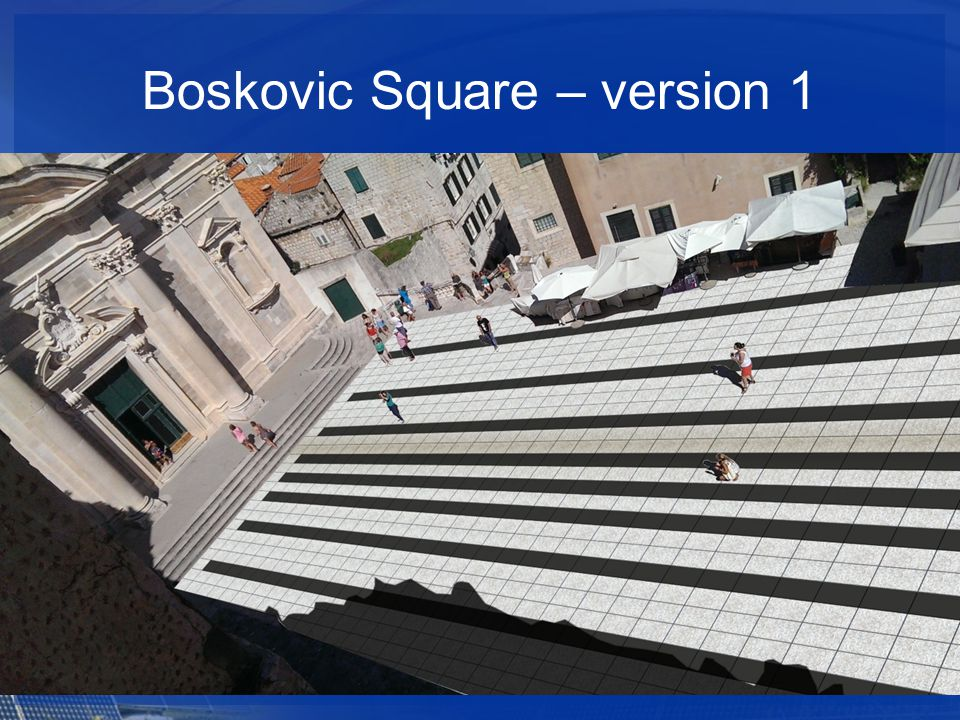 Boskovic Square – version 1