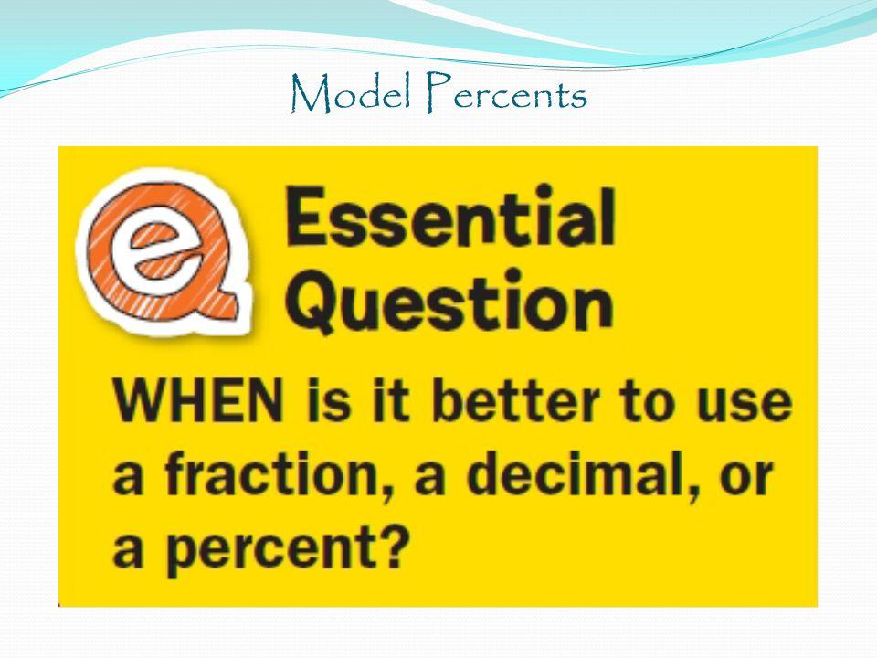 Model Percents