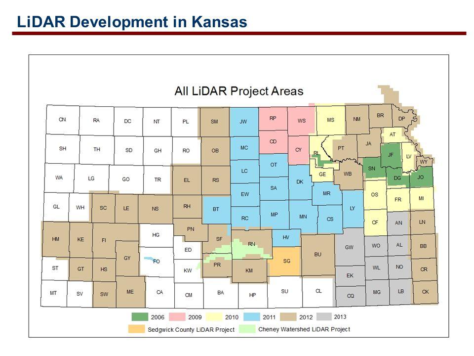 LiDAR Development in Kansas