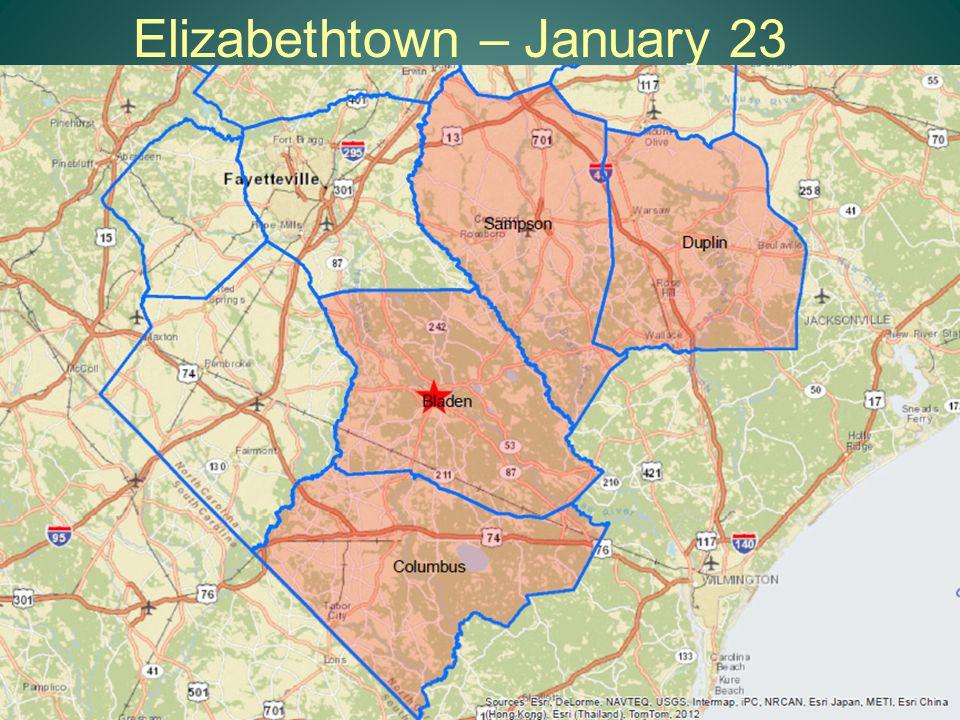 Elizabethtown – January 23 15