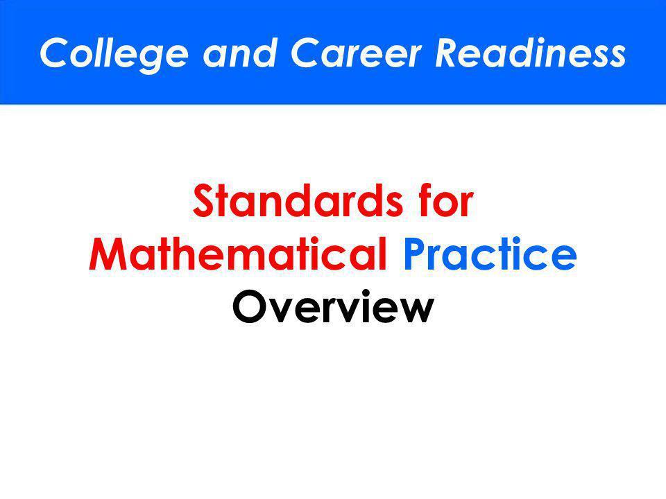 Common Core Standards for Mathematical Practice Jordan School District