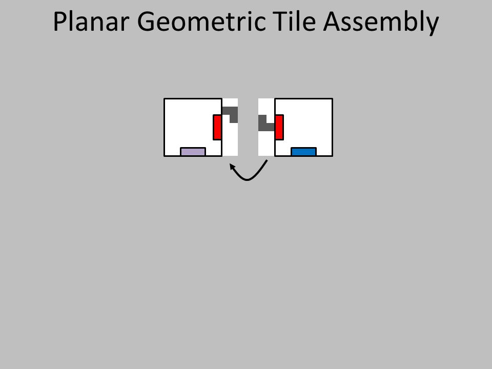 Planar Geometric Tile Assembly