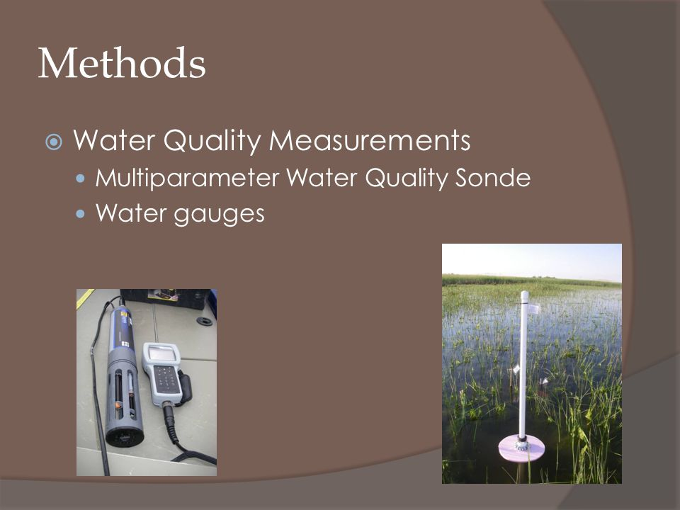 Methods Water Quality Measurements Multiparameter Water Quality Sonde Water gauges